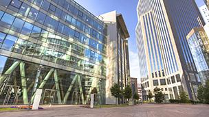 Francja - Liczba hoteli La Défense