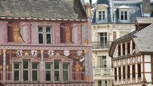 Frankrike - Hotell Sausheim