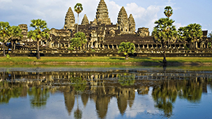 Kambodja - Hotell Angkor