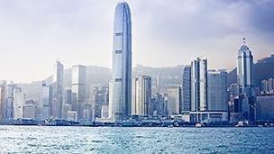 Chiny - Liczba hoteli Hong Kong