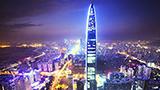 Chiny - Liczba hoteli Shenzhen