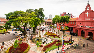 Malezja - Liczba hoteli Melaka