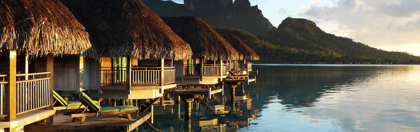 Polinésia francesa - Hotéis Bora Bora