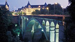 Luksemburg - Liczba hoteli Findel