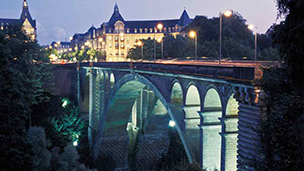 Luxembourg - Hotel FINDEL