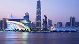 Chiny - Liczba hoteli Chiny