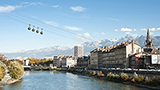 Francja - Liczba hoteli ISERE