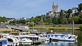 Francja - Liczba hoteli MAINE-ET-LOIRE