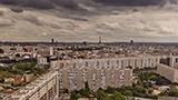 Francja - Liczba hoteli SEINE-SAINT-DENIS