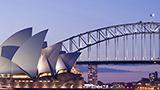 Australien - Hotell Sydney och Blue Mountains