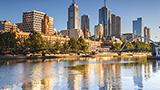 Australia - Liczba hoteli Melbourne Dolina Yarra i Goldfields