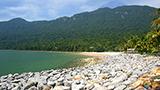 Indonezja - Liczba hoteli Kalimantan du Nord