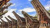 Indonezja - Liczba hoteli Sulawesi du Sud