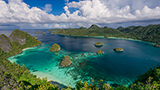 Indonezja - Liczba hoteli Papouasie
