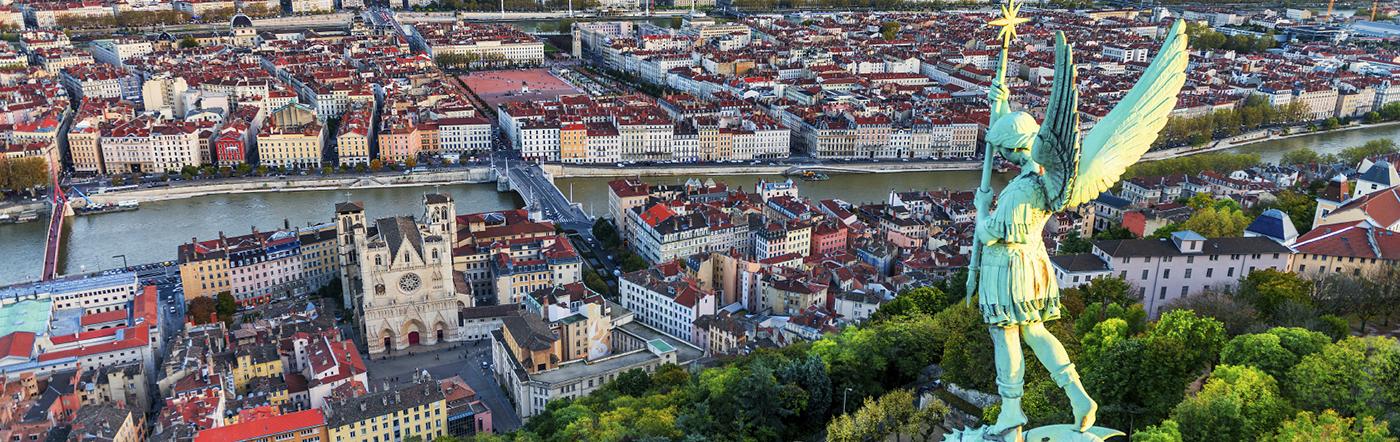 Frankreich - Nordwesten von Lyon Hotels