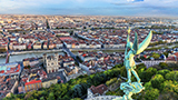 Francja - Liczba hoteli Ljon Północno–Zachodni