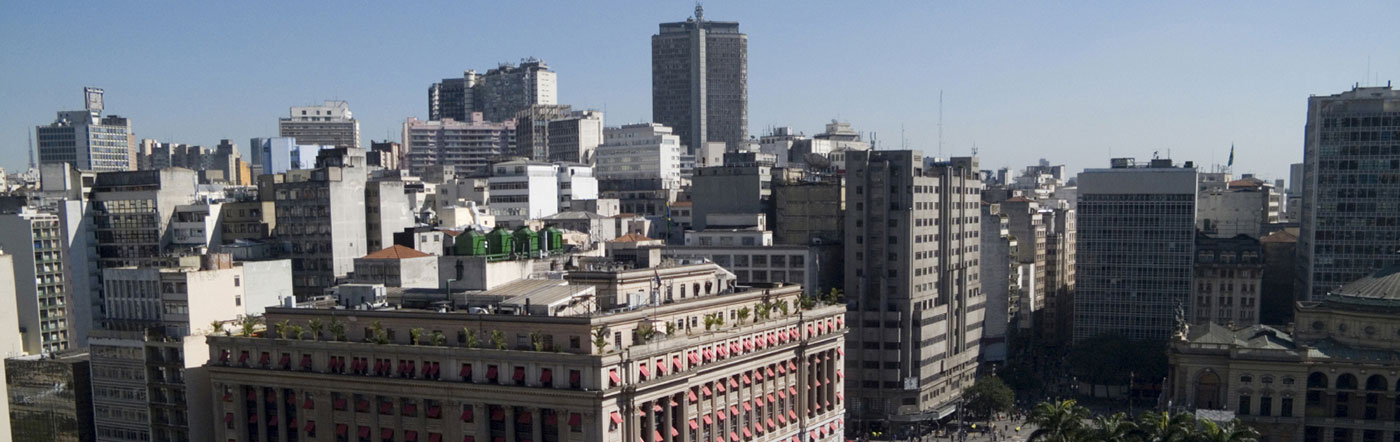 Brazylia - Liczba hoteli Centrum São Paulo