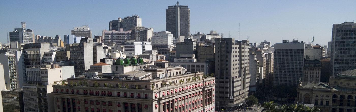 Brasilien - Hotell Centrala São Paulo