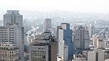 Brazylia - Liczba hoteli Północne São Paulo
