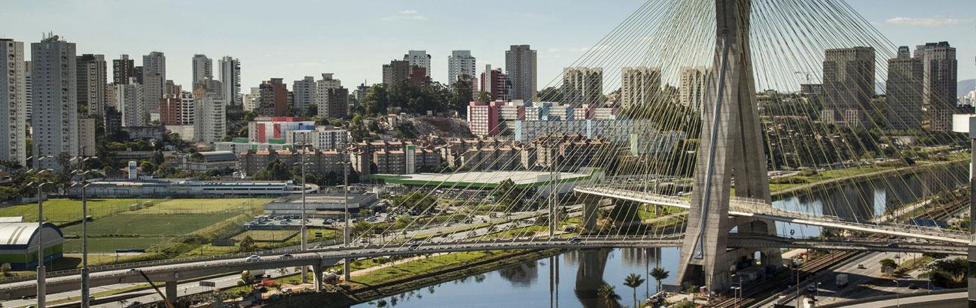 Brasilien - Hotell Södra São Paulo