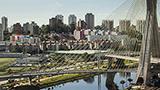 Brazylia - Liczba hoteli Południowe São Paulo