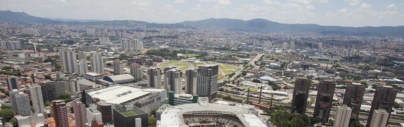 Brasilien - Hotell Västra São Paulo