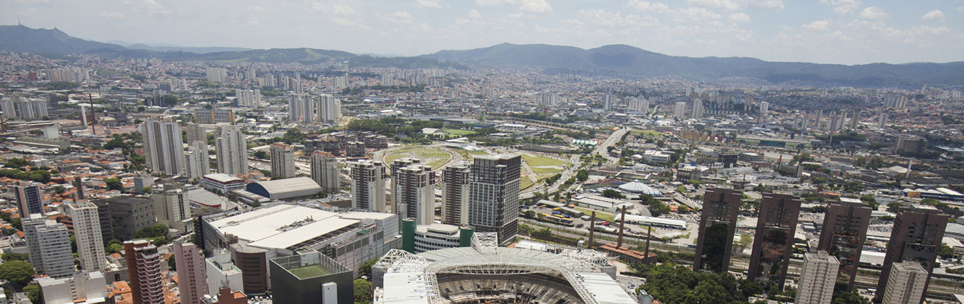 Brazylia - Liczba hoteli Zachodnie São Paulo