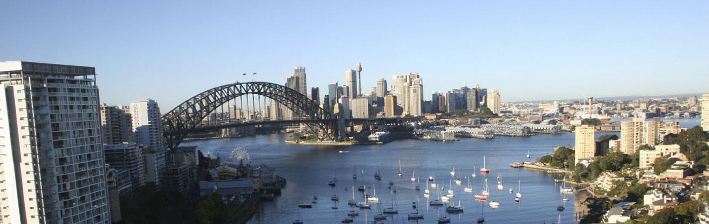 オーストラリア - ノースシドニー(シドニー北部) ホテル