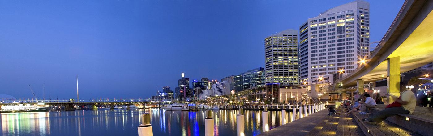 Austrália - Hotéis Zona de Darling Harbour