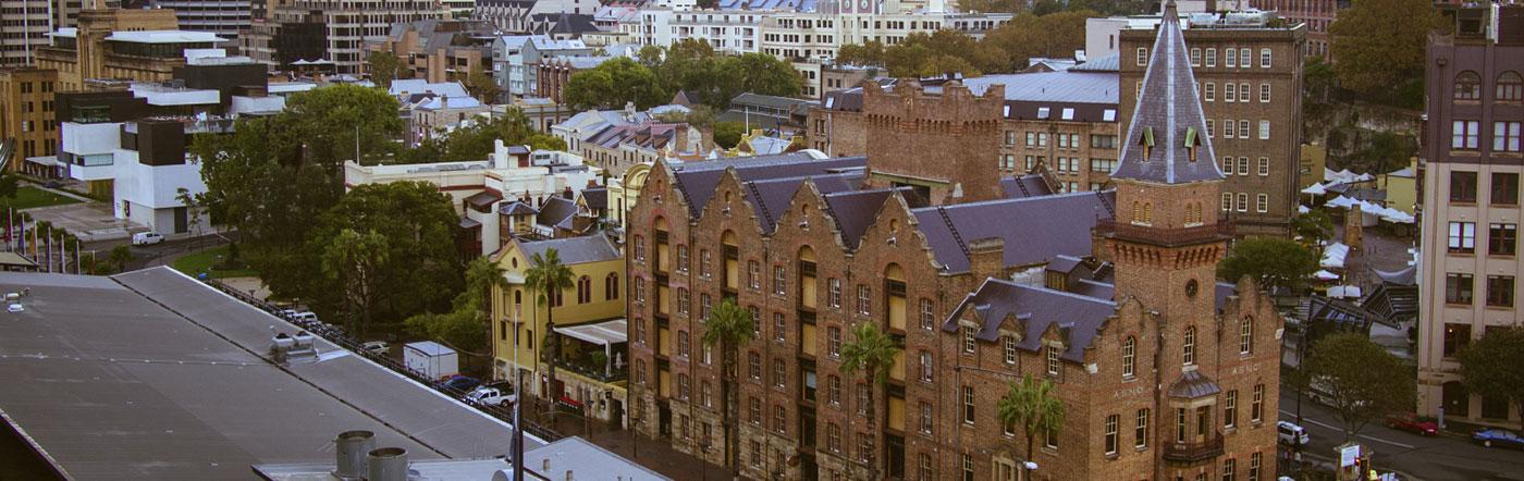 Australia - Liczba hoteli Centrum Sydney