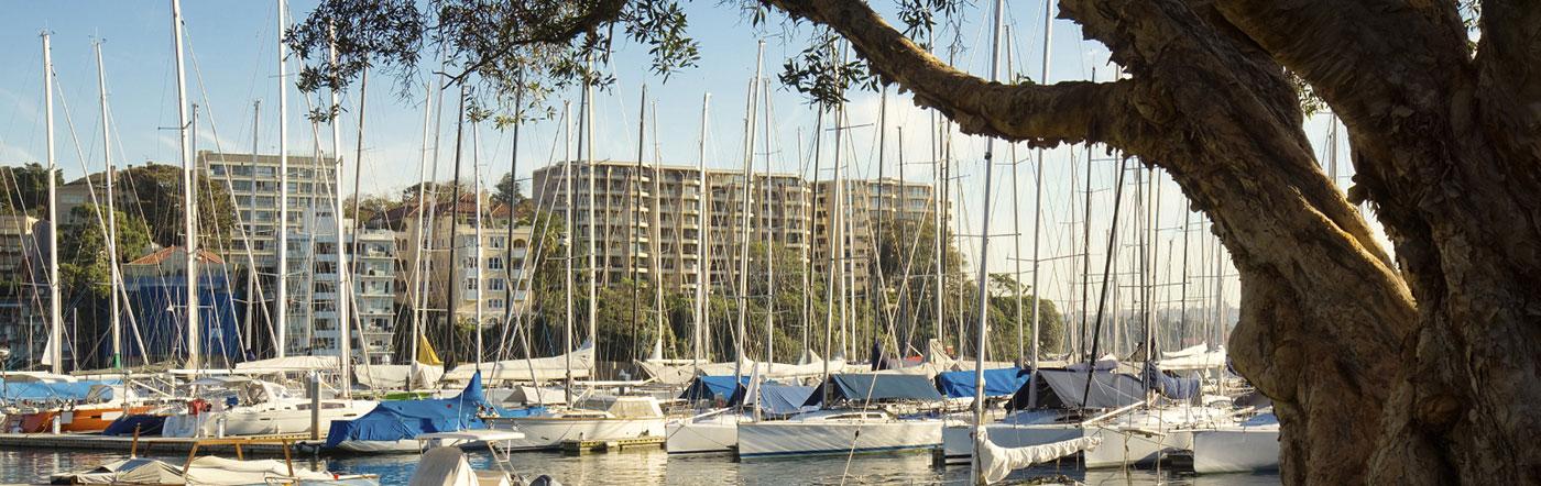 Australia - Liczba hoteli Wschodnie Sydney