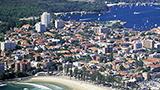 Australia - Liczba hoteli Manly
