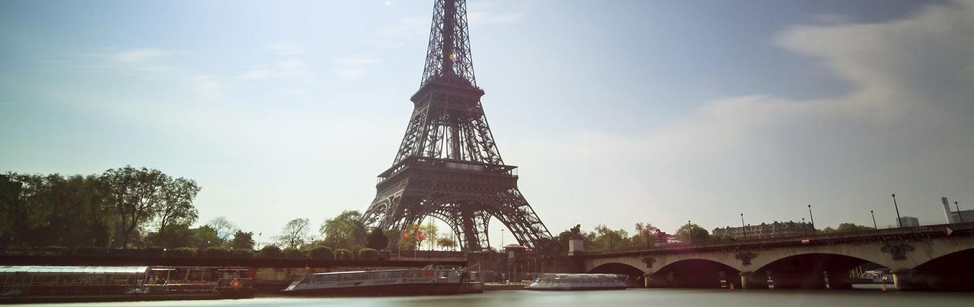 فرنسا - فنادق غربي وسط باريس (الدوائر الأولى والثانية والسابعة والثامنة)