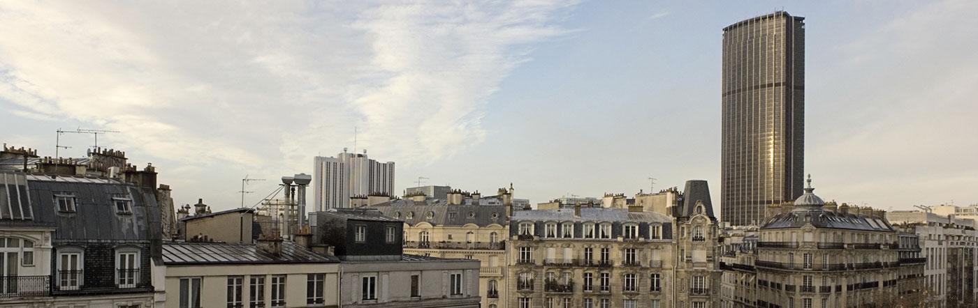 Francja - Liczba hoteli Paryż południowy (13e-14e-15e)