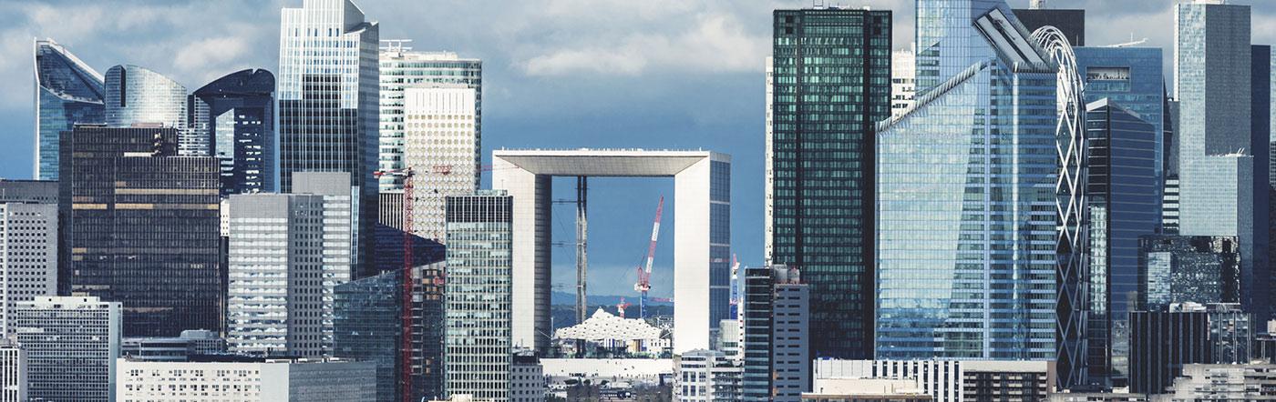 Francja - Liczba hoteli Paryż zachodni (16e-17e-La défense)