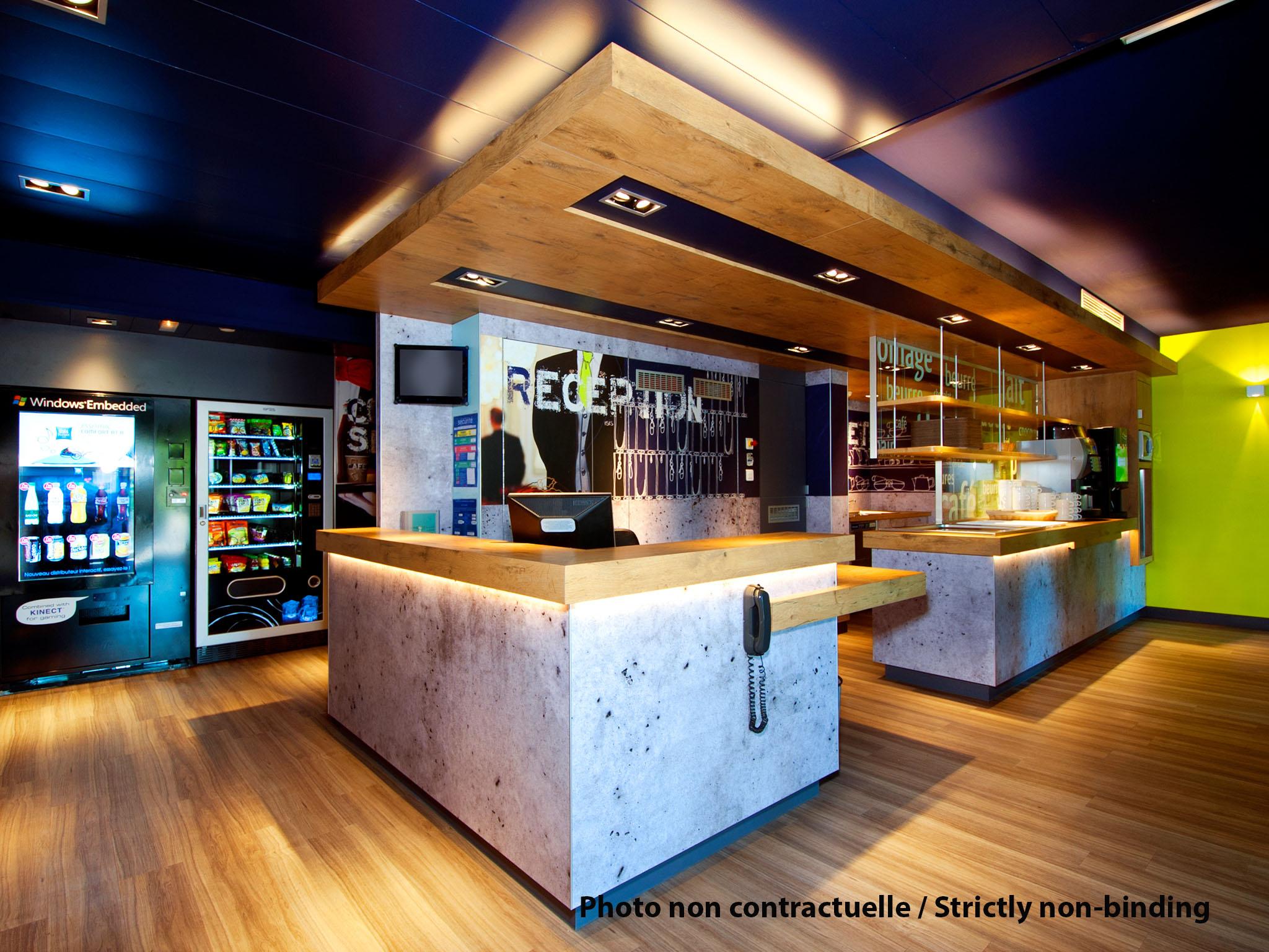 فندق - ibis budget Boulogne-sur-Mer Centre Les Ports