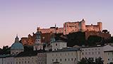 Austria - Liczba hoteli SALZBURG-Land
