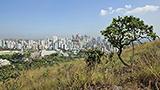 Brazylia - Liczba hoteli Minas Gerais