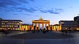 Niemcy - Liczba hoteli Berlin-Land