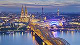 Niemcy - Liczba hoteli North Rhine Westphalia
