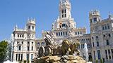 Hiszpania - Liczba hoteli MADRID-Area