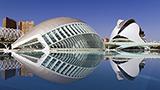 Hiszpania - Liczba hoteli VALENCIA-Area