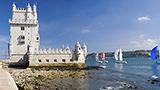 Portugalia - Liczba hoteli LISBON AND TAGUS VALLEY