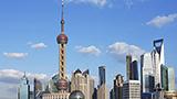 Chiny - Liczba hoteli SHANGHAI-municipality